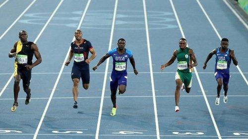 Rio olympics men s 100m final jpg