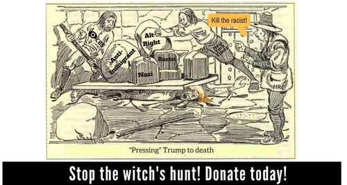 The witchs hunt
