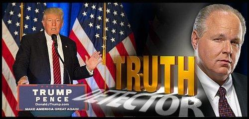 Trump truth detect 081616
