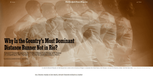 Why is the country's most dominant distance runner not in rio   the new york times   2016 08 20 22.29.05