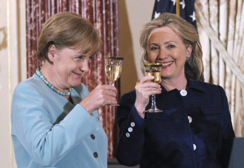 Clinton merkel health