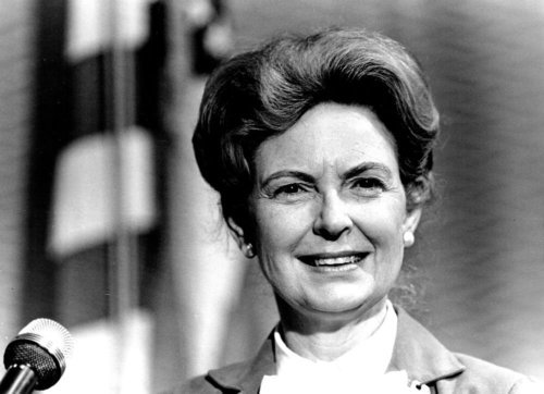 Phyllis schlafly first job in politics