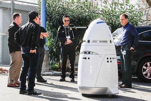 Robotsecurityguardwithhumans