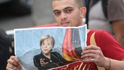 La image migrants arrive in germany following ordeal in hungary 20150907