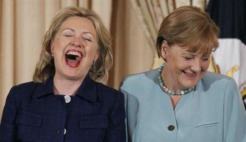 Hillary merkel