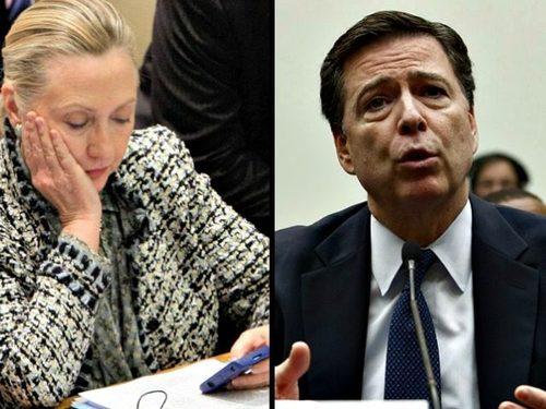 Hillary and comey ap photos 640x480