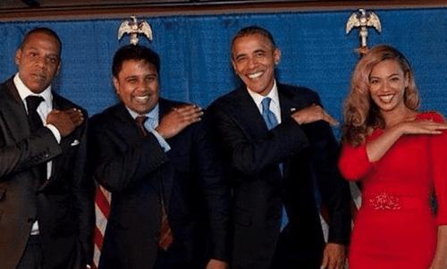 Obama jayz beyonce
