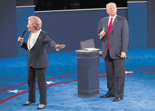 Trumpclintondebate2