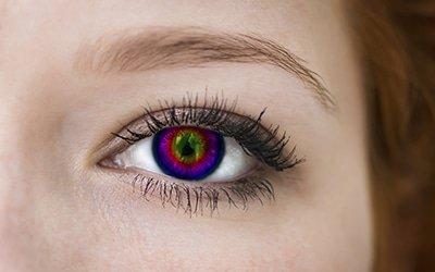 Decorative lens