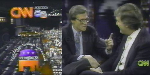 Donald trump republican convention 1988 cnn