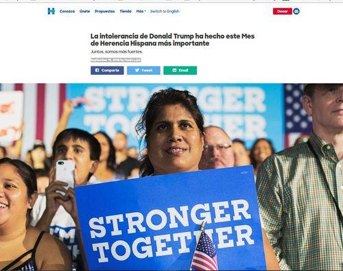 Hillarywebsite