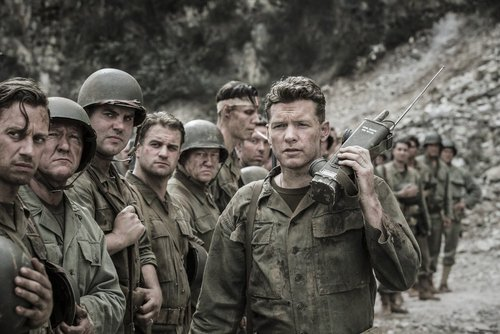 Sam worthington in hacksaw ridge 2016