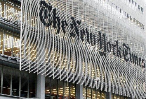 New york times building facade