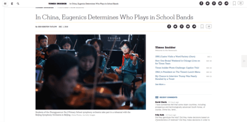 In china eugenics determines who plays in school bands   the new york times   2016 12 02 21.25.34