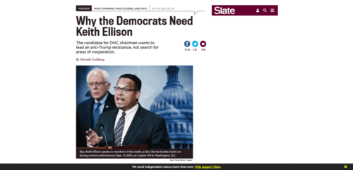 Why the democrats need keith ellison.   2016 12 01 15.27.56
