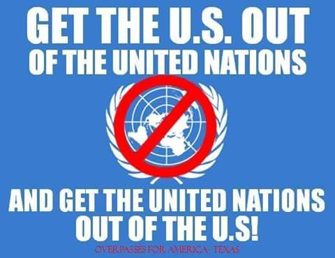 Get the usa out of the un