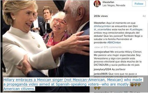Hillaryembraces