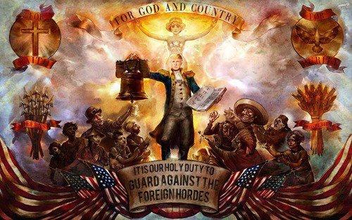 Trump american constitutional god