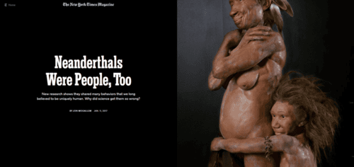 Neanderthals were people too   the new york times   2017 01 12 15.10.12