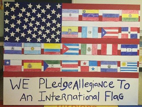 Schooldiverseinternationalflag