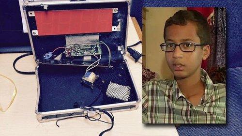Ahmed mohamed clock