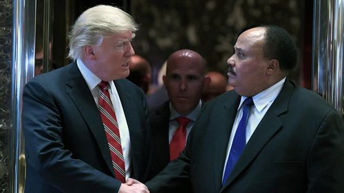 Ct trump meets with martin luther king iii 201 001
