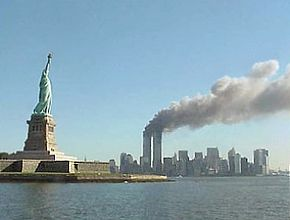 290px national park service 9 11 statue of liberty and wtc fire
