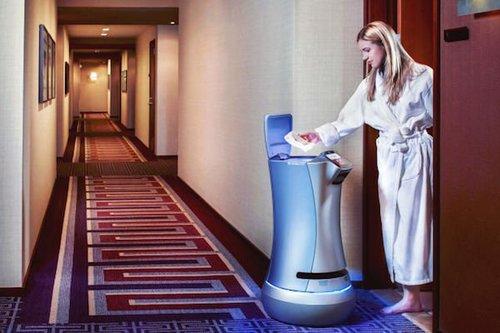 Hotelrobotroomservicebellhop