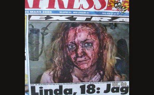 Linda a swedish victim of a muslim gang rape in 2005