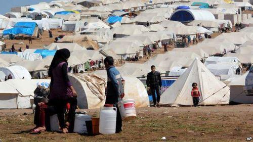 Syriarefugeecamptents