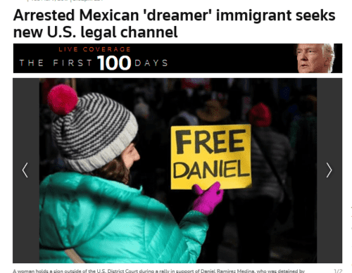 Arrested mexican dreamer immigrant seeks new u.s. legal channel reuters   2017 03 11 22.51.31