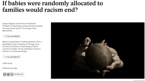 If babies were randomly allocated to families would racism end aeon ideas   2017 03 16 17.47.28