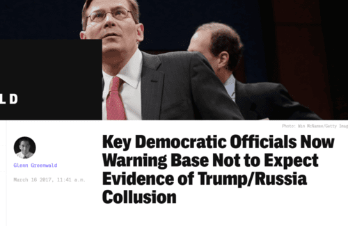 Key democratic officials now warning base not to expect evidence of trump russia collusion   2017 03 20 20.38.10