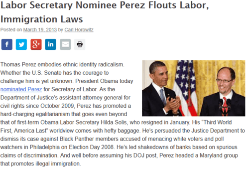 Labor secretary nominee perez flouts labor immigration laws   national legal  policy center   2017 03 14 13.43.15
