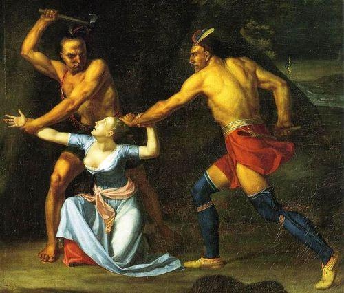 The death of jane mccrea john vanderlyn 1804 crop
