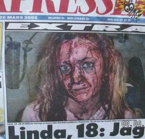 Gang raped linda