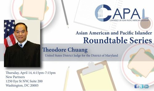 Imagine Judge Chuang was white, and spoke at an American Renaissance conference. Then we might see some impeachment!