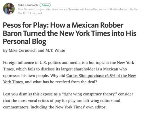 Pesos for play how a mexican robber baron turned the new york times into his personal blog   2017 04 04 19.01.22