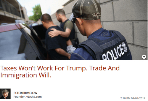 Taxes won t work for trump. trade and immigration will. the daily caller   2017 04 05 20.41.48