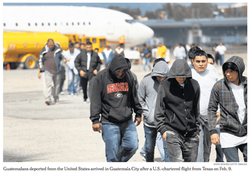 Guatemaladeportedillegalsarrive nytfpfeb22 2017