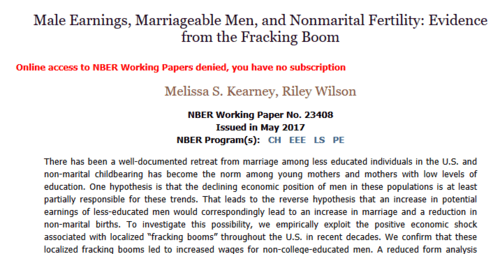 Male earnings marriageable men and nonmarital fertility evidence from the fracking boom   2017 05 16 19.43.33