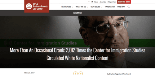 More than an occasional crank 2012 times the center for immigration studies circulated white nationalist content southern poverty law center   2017 05 25 15.22.30