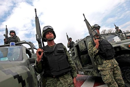 Mexican soliders