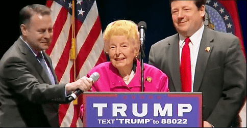 Phyllis schlafly endorses donald trump