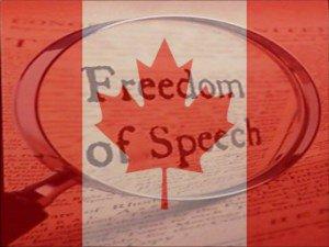 Canada free speech