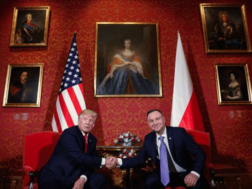Polanddonaldtrumppaintingsduda
