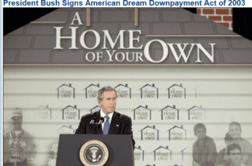President bush signs american dream downpayment act of 2003   2017 03 11 10.13.06 563x372