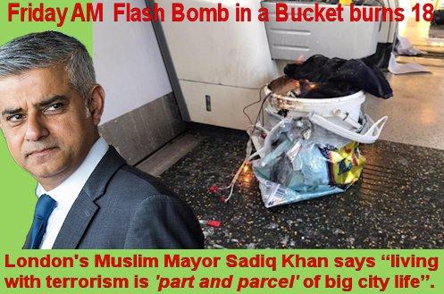 London bucket bomb