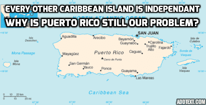 Radio Derb: The Refugee Racket, The Puerto Rico Non-Question, And
