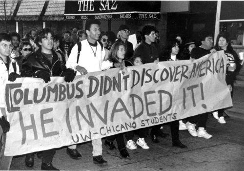 Columbus day lefties
